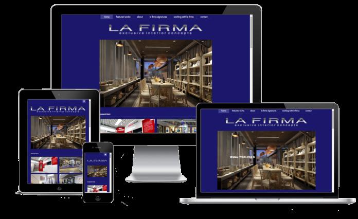 custom wordpress website interior design