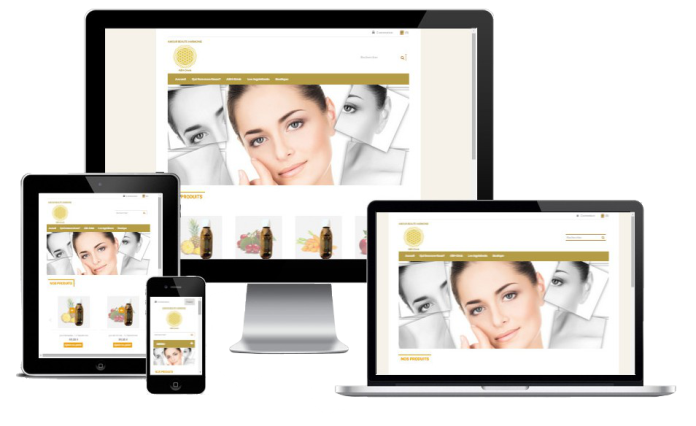 responsive e-commerce website prestashop beauty