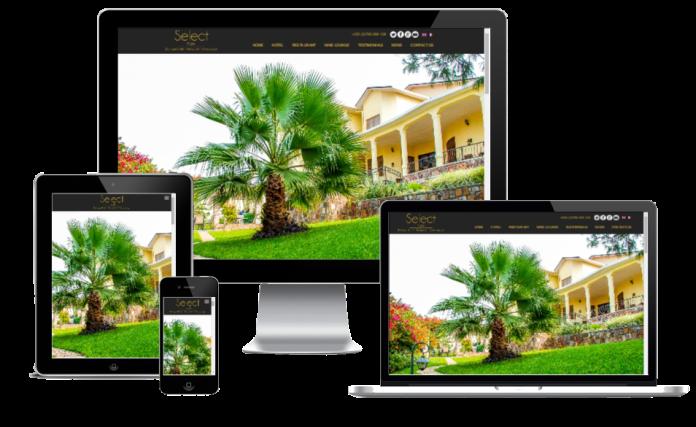 wordpress responsive website design select